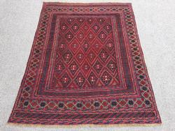 Rare Collectible Authentic Handmade Vintage Persian Rug
