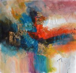 Outstanding Gailey Abstract Original Acrylic