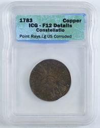 1783 Constellatio Copper - ICG Certified