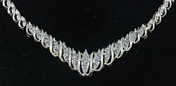 Chic Diamond Necklace