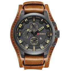 Army Mens Leather Sports Watch