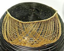 Gorgeous Drapey Design 14kt Gold Necklace