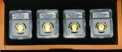 2007-S Four Coin Presidential Set PR-70 DCAM ICG