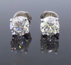 1.80cttw Diamond Studs