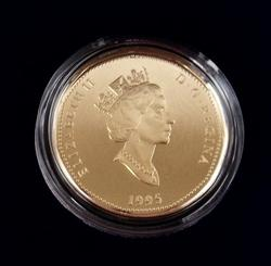 1995 Peacekeeping Proof Canadian Dollar Coin