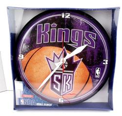 NBA Kings Basketball Wall Clock - NRFB