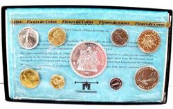 1977 French Coin Set w/COA