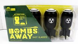 Bombs Away Shot Glasses - NRFB