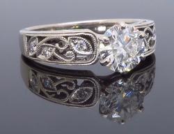 Designer GIA Certified Diamond Ring