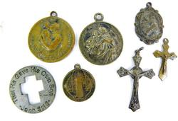 7 Early Catholic Religious Medals