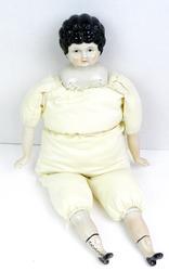 Vintage Frozen Charlotte Large Doll
