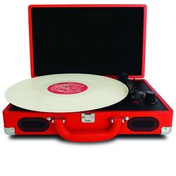 5-in-1 Record Player 3-Speed Turntable w/ Speakers