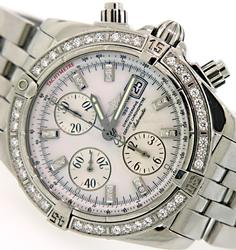 Breitling Evolution Chronomat with Diamonds