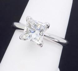 GIA Certified VS 1.01CT Diamond Ring