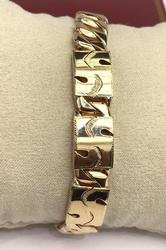 Men's 14Kt Gold Bracelet