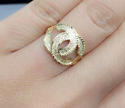 Solid 18KT Gold Ring