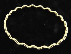 Ladies 18kt Gold Tiffany & Co Bangle Bracelet