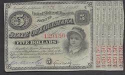 $5 187X Baby Bond State of Louisiana