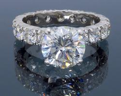 Eternity Fine Brand New over 5 ctw Diamond ring