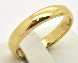Wide & Heavy Tiffany & Co 18kt Gold Wedding Band