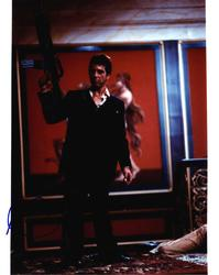 Al Pacino Autographed Signed 11x14 Scarface Photo UACC