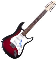 Keith Richards Rolling Stones Autographed 12-String Gui