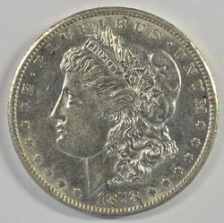 High grade near mint 1878-CC Morgan Silver Dollar