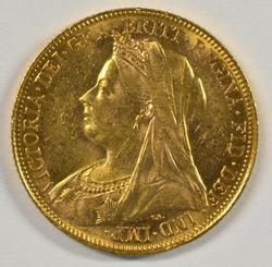 Super Choice BU 1900 Great Britain Gold Sovereign