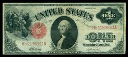 Very Nice 1917 Series Large Size $1 Legal Tender Note