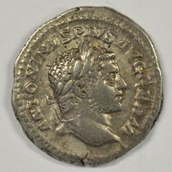 Great Caracalla Roman Silver Denarius, 198-217 AD