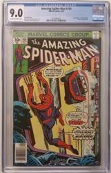 Amazing Spiderman # 160 September 10, 1976 CGC 9.0