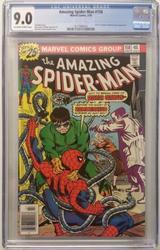 Amazing Spiderman # 158 July 10, 1976 Marvel CGC 9.0