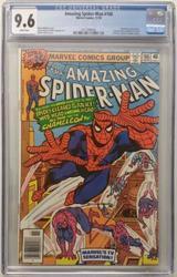 Amazing Spiderman # 186 November 10, 1978 CGC 9.6