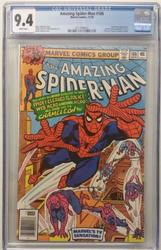 Amazing Spiderman # 186 November 10, 1978 CGC 9.4