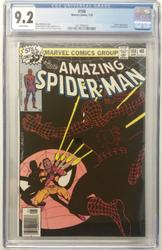 Amazing Spiderman # 188 January 10, 1979 Marvel CGC 9.2