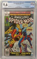 Amazing Spiderman # 182 July 10, 1978 Marvel CGC 9.6