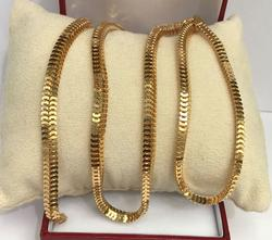Mint Condition 18K Gold Snake Chain