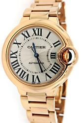 Ladies 18K Rose Gold Cartier Ballon Bleu