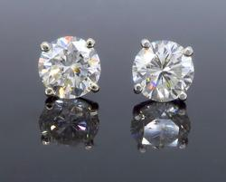 3.31CTW Diamond Studs