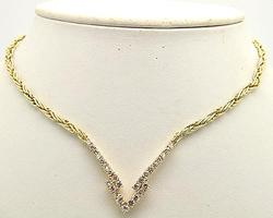 3ctw Diamond Necklace in 14kt Gold