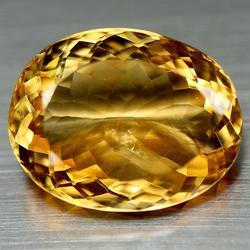 Rich golden yellow 14.19ct natural Citrine