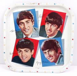 1960'S The Beatles Metal Tray