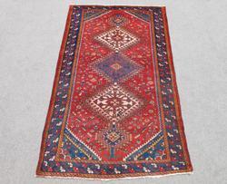 Beautiful Tribal Semi Antique Persian Shiraz 5.5x10