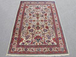 Spectacular Handmade Semi Antique Allover Persian Sarouk 8x11