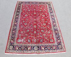 Absolutely Captivating Semi Antique Persian Tabriz 8x12