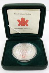 Voyage of Discovery Proof Sterling Silver Canada Dollar