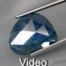 Amazing 4.10ct freeform faceted natural Sapphire