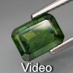 Incredible 1.75ct forest green precious Sapphire