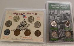 American Dimes, 20th Century & World War 2 Type Set