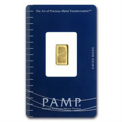 1 Gram Fine Gold Bar